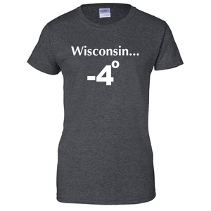 Meanwhile in Wisconsin Ladies T Shirt