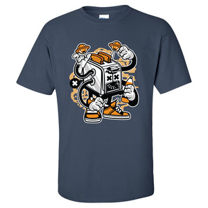 Toaster Monster Mens/Unisex T Shirt