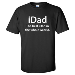iDad T-Shirt - Father's Day Gift