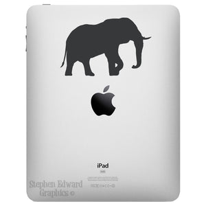 Elephant iPad Decal - Apple iPad decal - Elephant Tablet Sticker