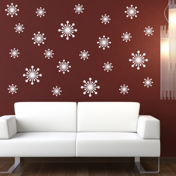 Fifties Starbursts Wall Decal - Set of 23
