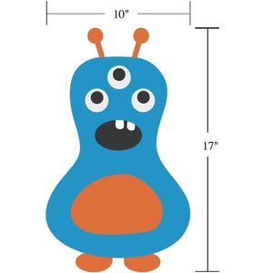 Dimensions of Monster Wall Decal Children Personalized Printed Monster