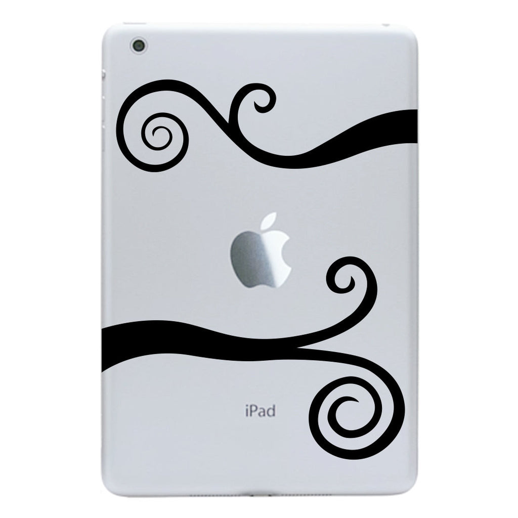 Wavy Scrolls iPad Mini Decal