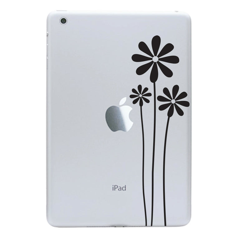 Wildflowers iPad Mini Decal - Wild Flowers Decal - Tablet Sticker
