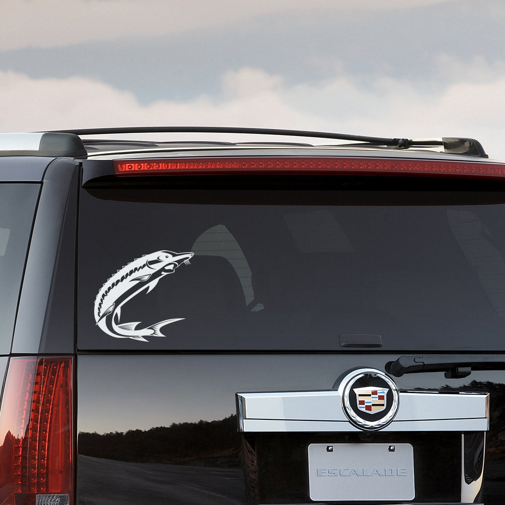 Sturgeon Fish Car Decal