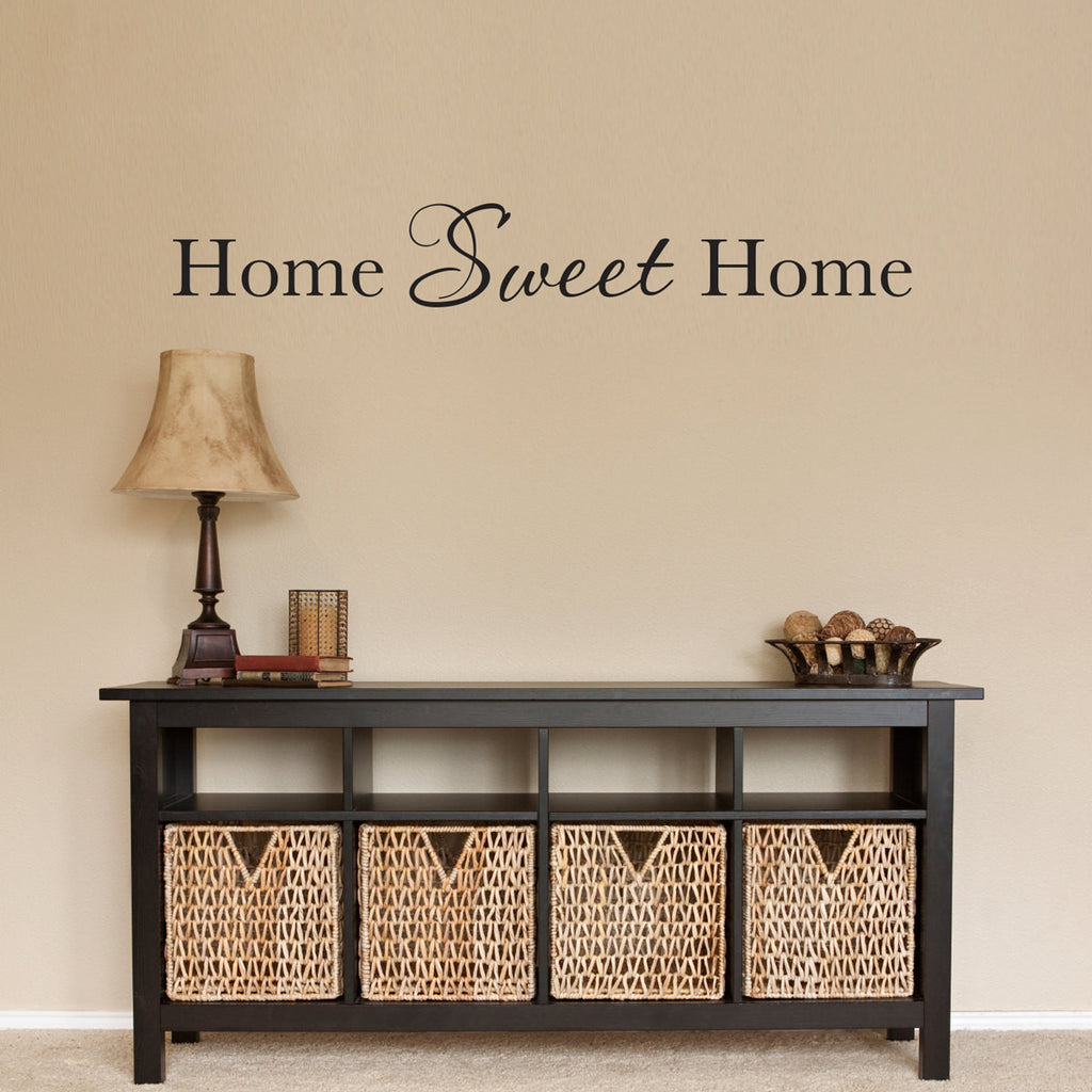 Home Sweet Home Wall Decal - Large