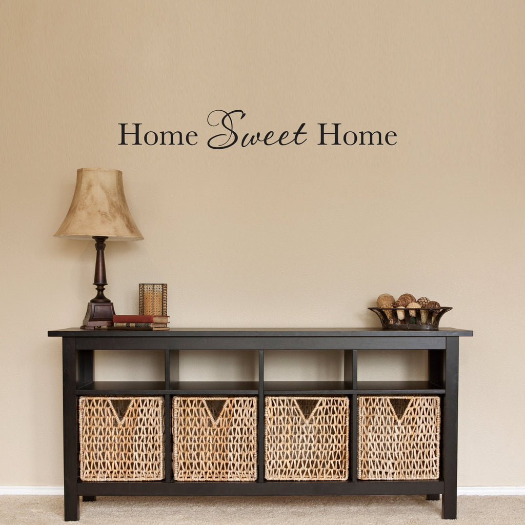 Home Sweet Home Wall Decal - Medium