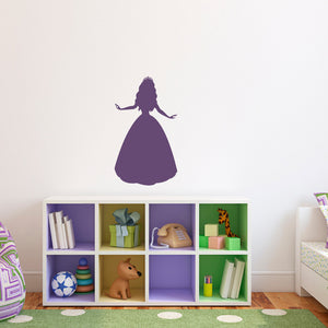 Princess Medium Girl Bedroom Wall Decal