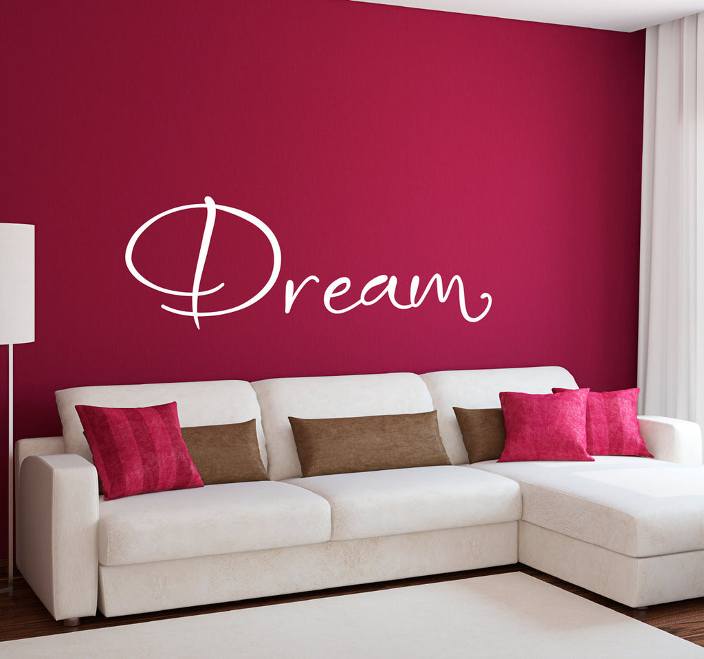 Dream Wall Decal - Large