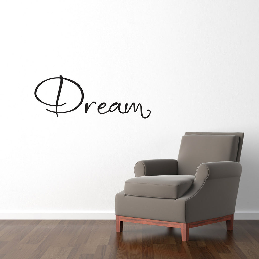Dream Wall Decal - Medium