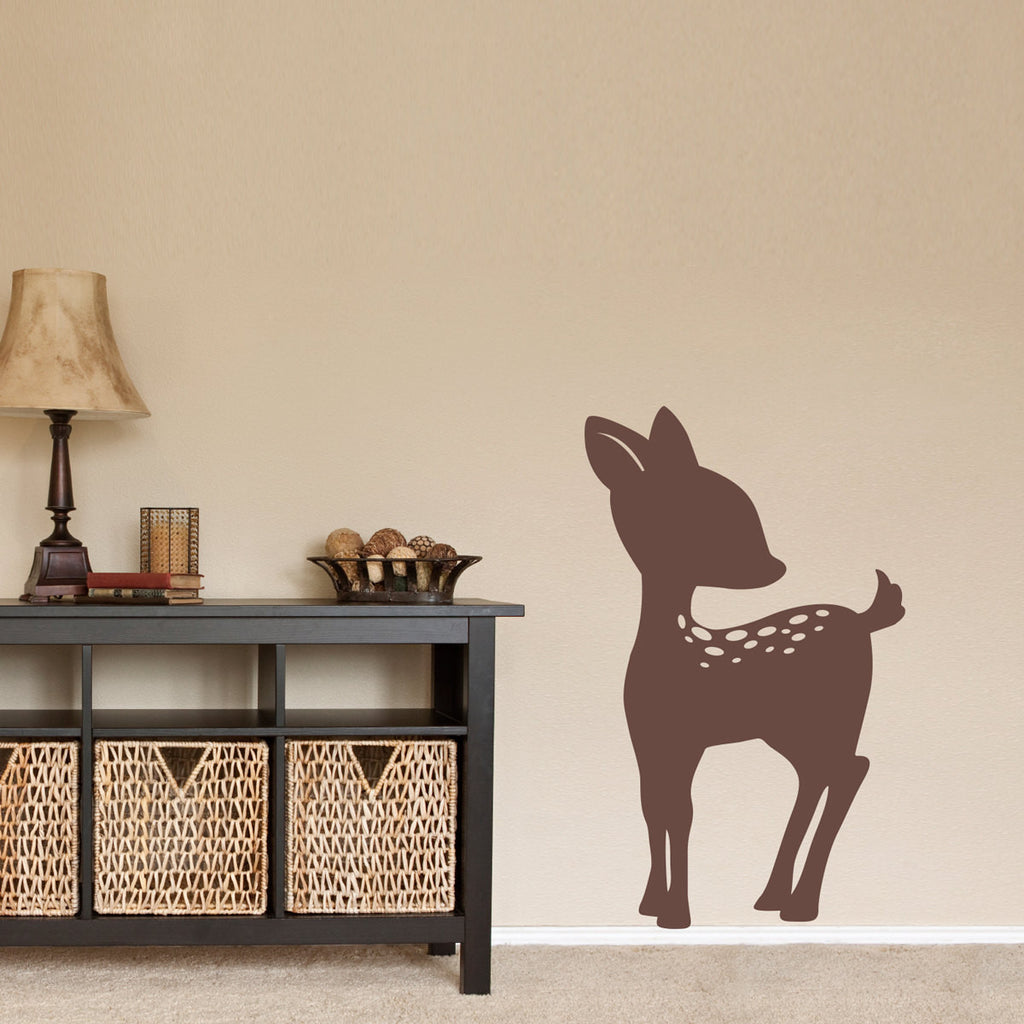 Fawn Wall Decal - Large