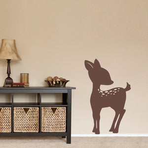 Fawn Large Animal Wall Decal