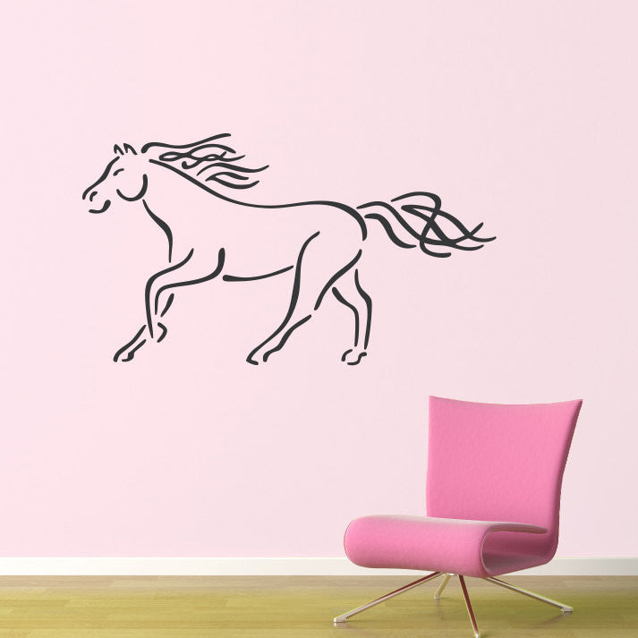Horse Wall Decal - Large