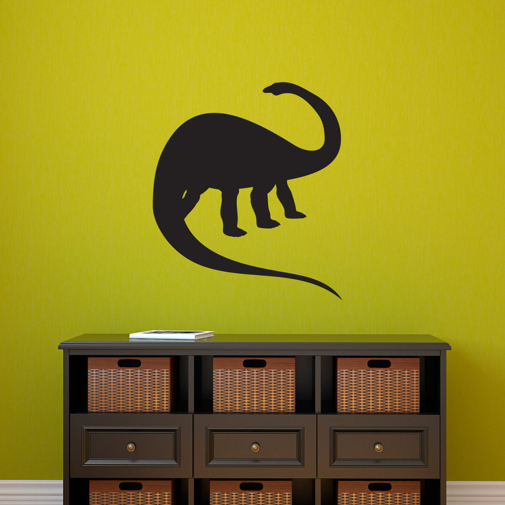 Apatosaurus Dinosaur Wall Decal