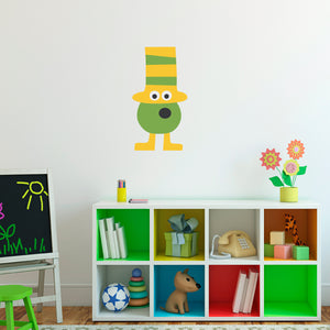 Monster Wall Decal Children Personalized Printed Monster