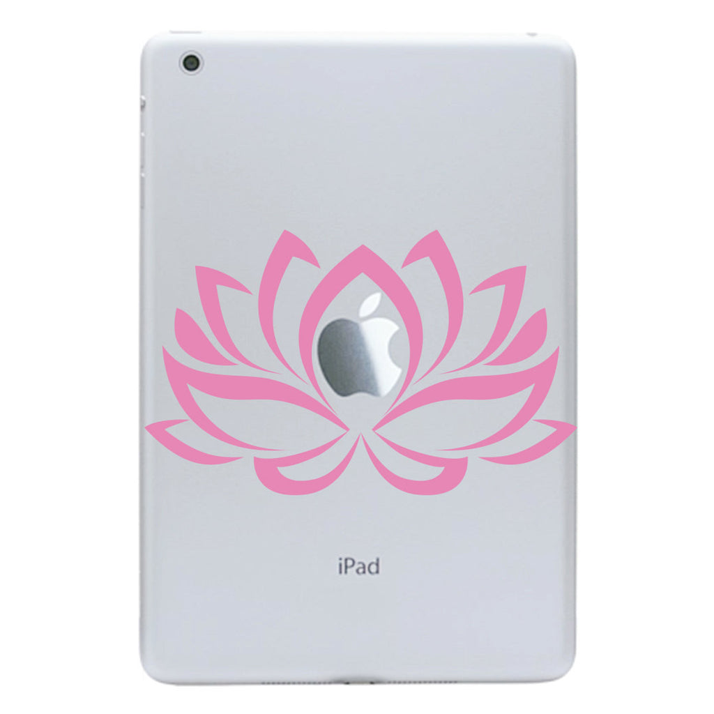 Lotus Flower iPad Mini Decal - Flower iPad Mini Decal