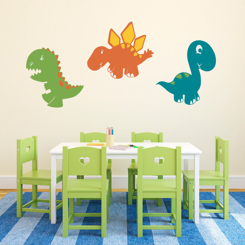 Dinosaur Set Wall Decal