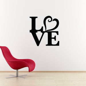 Love Heart Wall Art Large Wall Decal