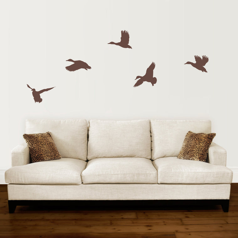 Duck Wall Decal Set - Set of 5