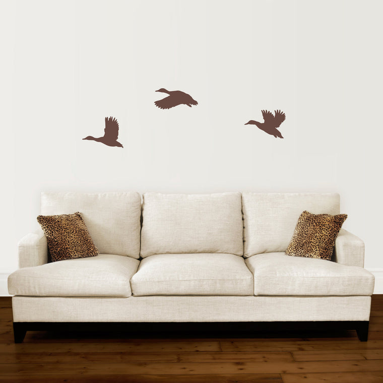 Duck Wall Decal Set - Set of 3