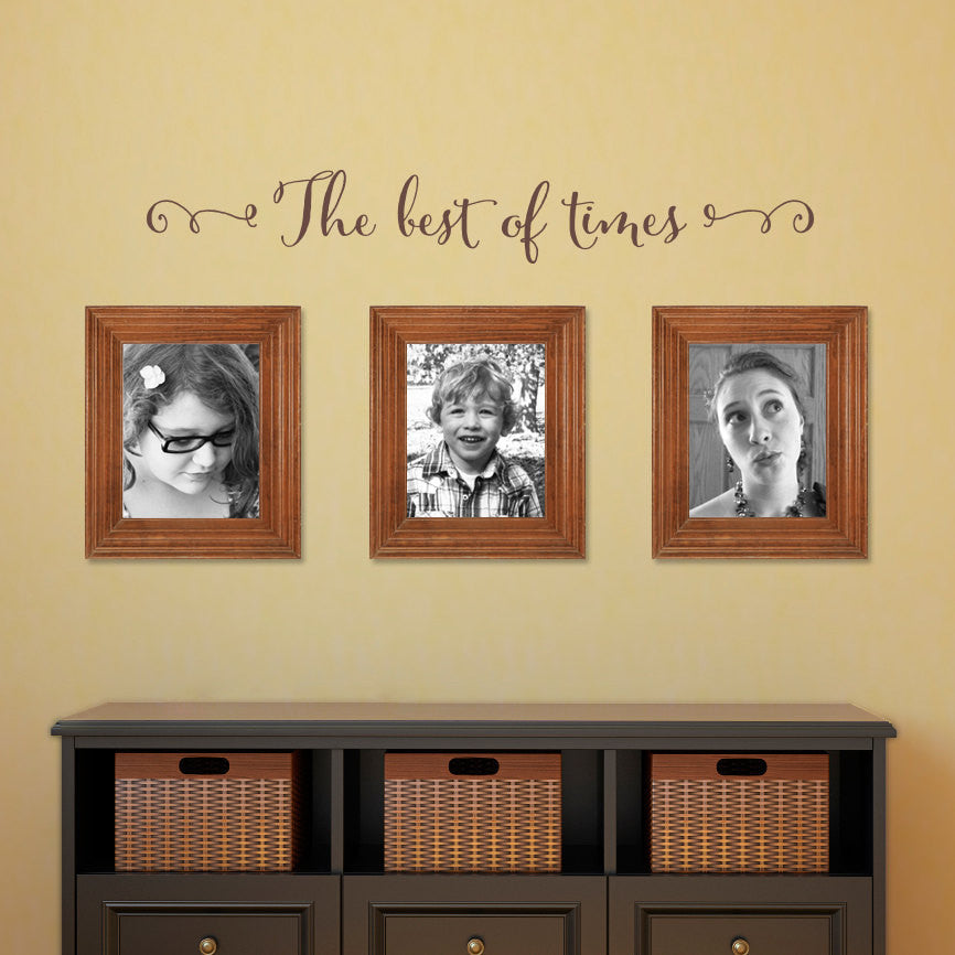 The best of times Wall Decal - Photo Wall Decal - Medium