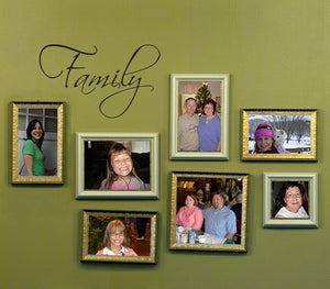 Family Small Wall Art Decal