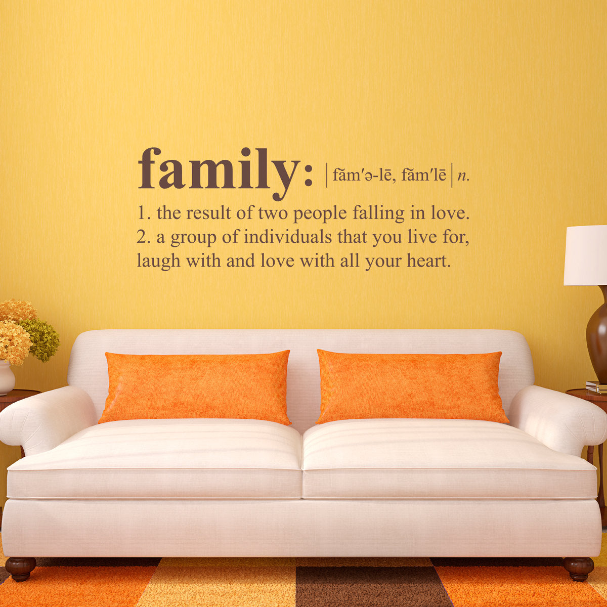 Family Definition Wall Decal Dictionary Definition Decal Family