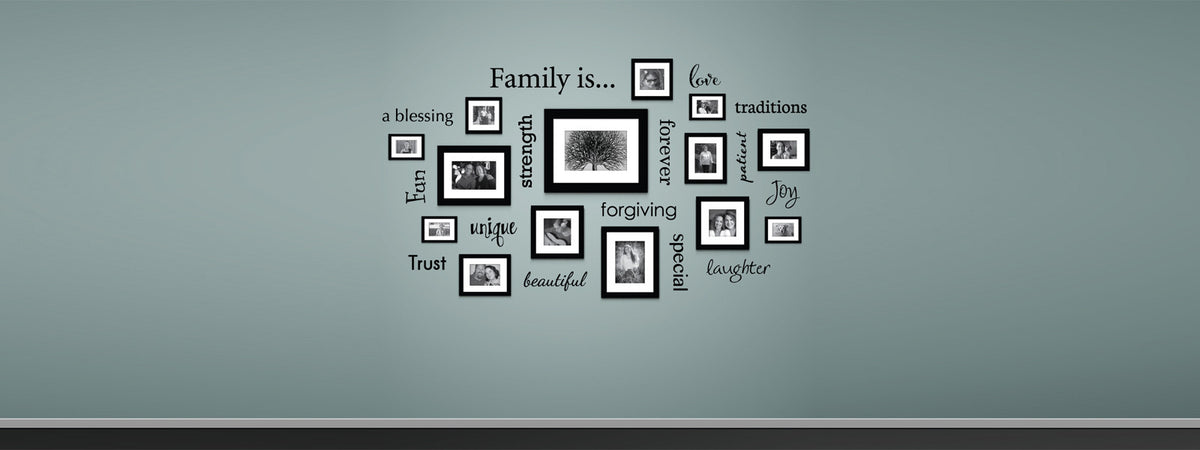 family is wall decal