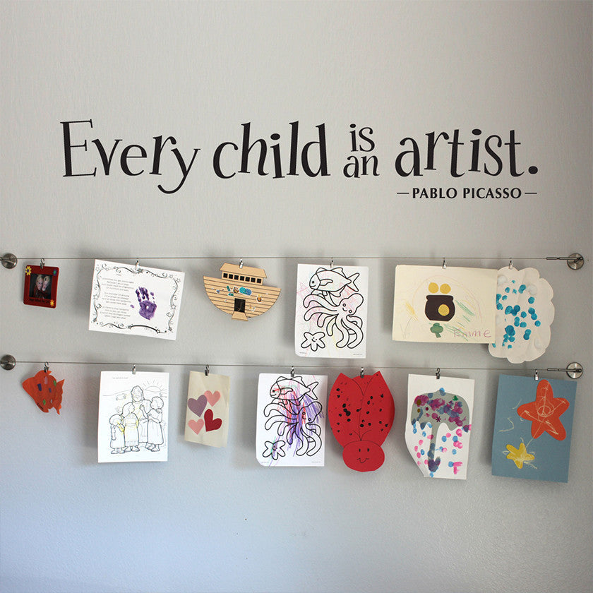 Decals for Your Little Artist