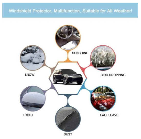 Universal Windshield Snow & Ice Defense Cover