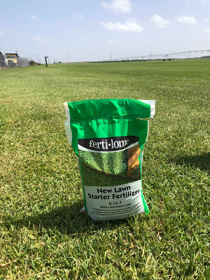 New Lawn Starter Fertilizer for Floratam and Bermuda Grass