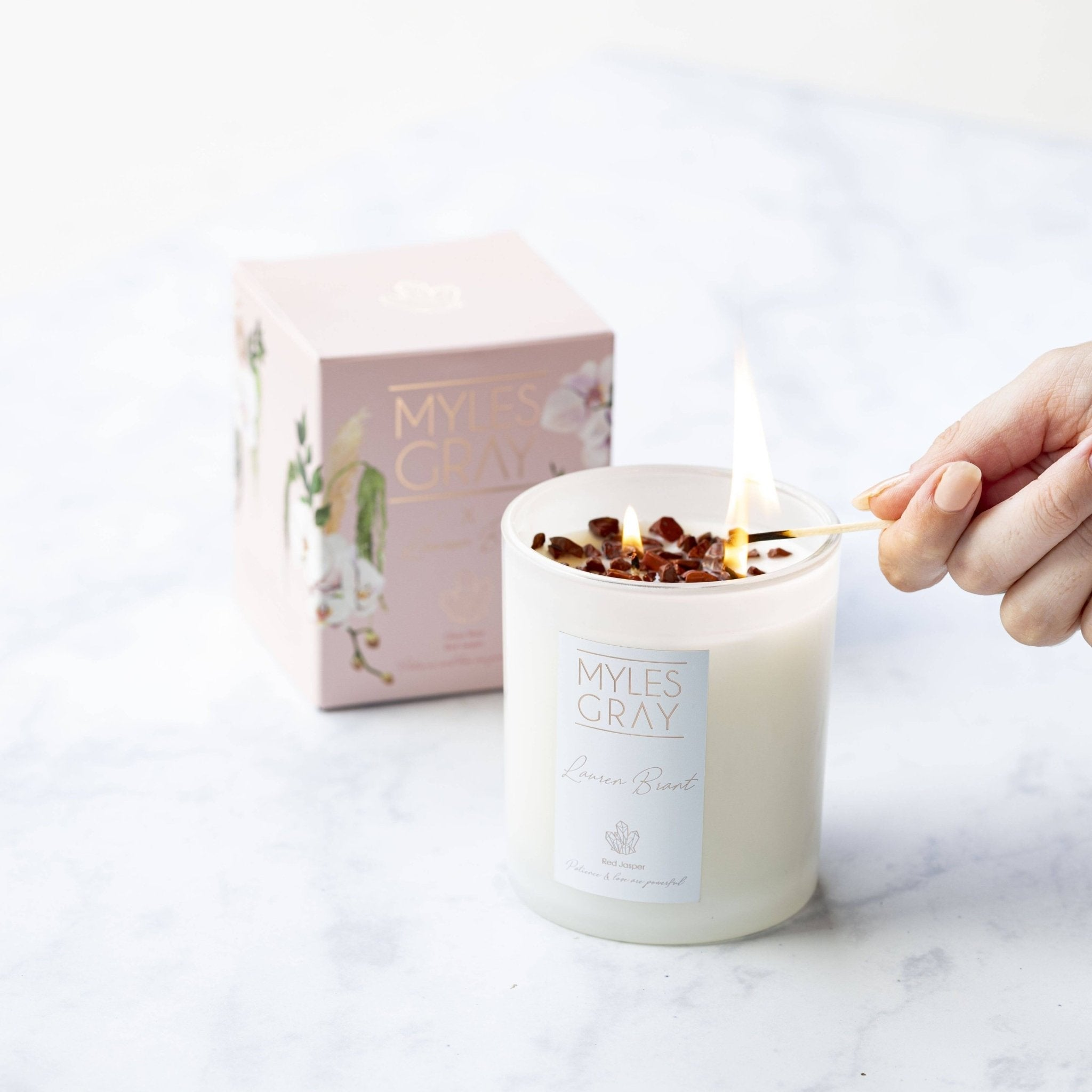 Myles Gray X Lauren Brant Collab Candle - Myles Gray