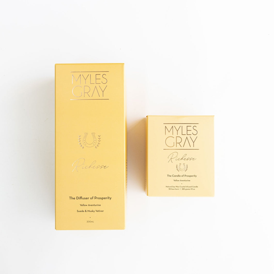 Richesse Diffuser and Candle Bundle - Myles Gray