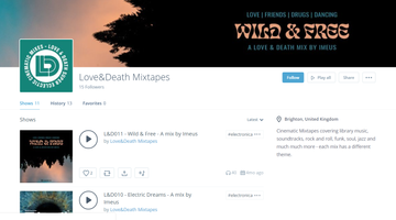 New Love&Death mix posted