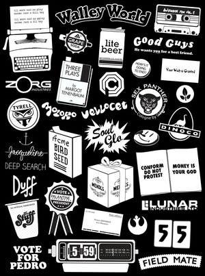 Film Logos - Throwing Shapes