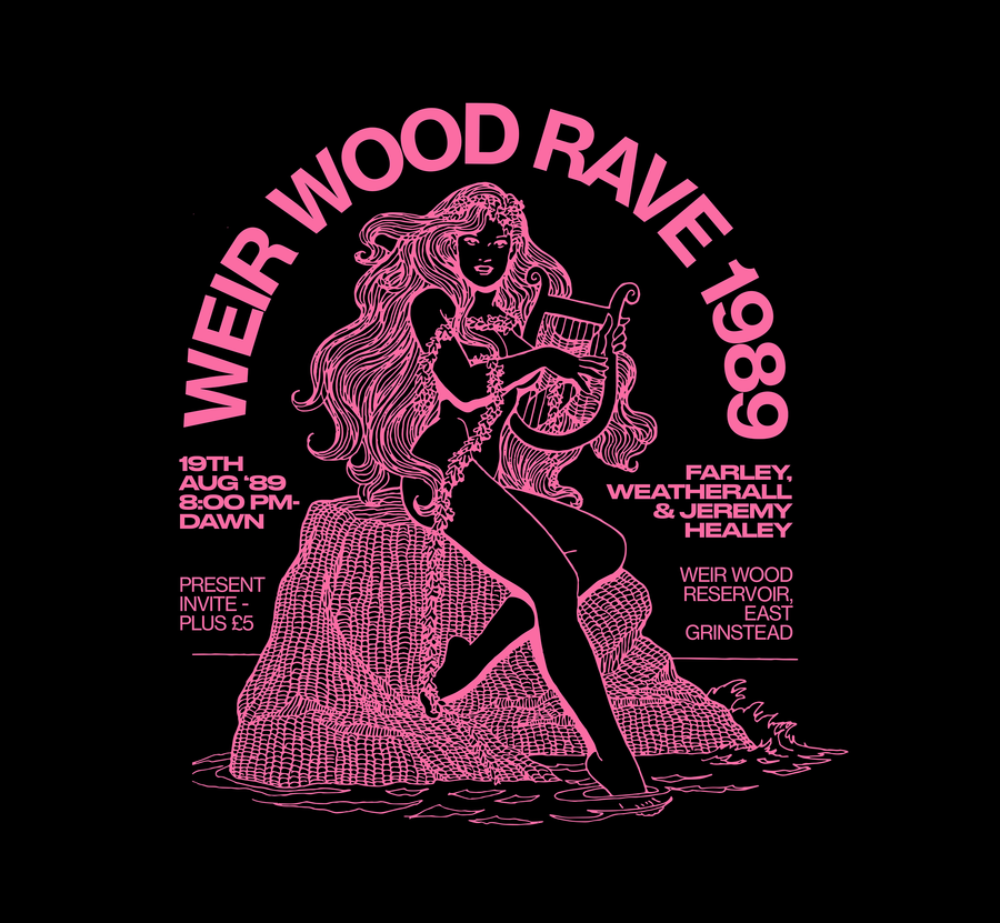 Weir Wood Rave 89 - Throwing Shapes