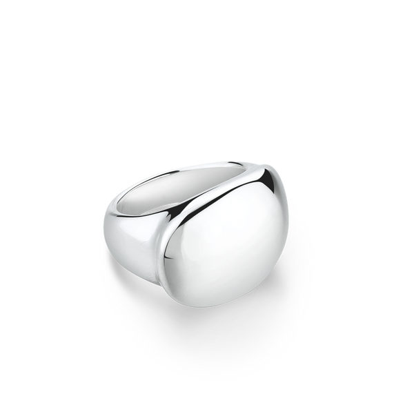 Chunky Silver Ring from Montreal jewellery designer www.elysee.ca