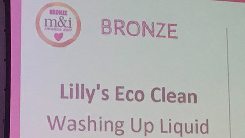 And Bronze for Lilly's Washing Up Liquid