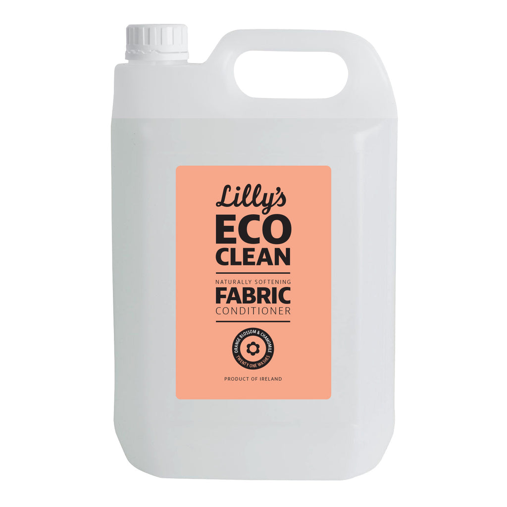 Natural Fabric Softener with Orange Blossom and Chamomile 5 Litre