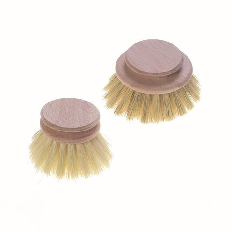 Wooden Washing-Up Brush - Replacement Head