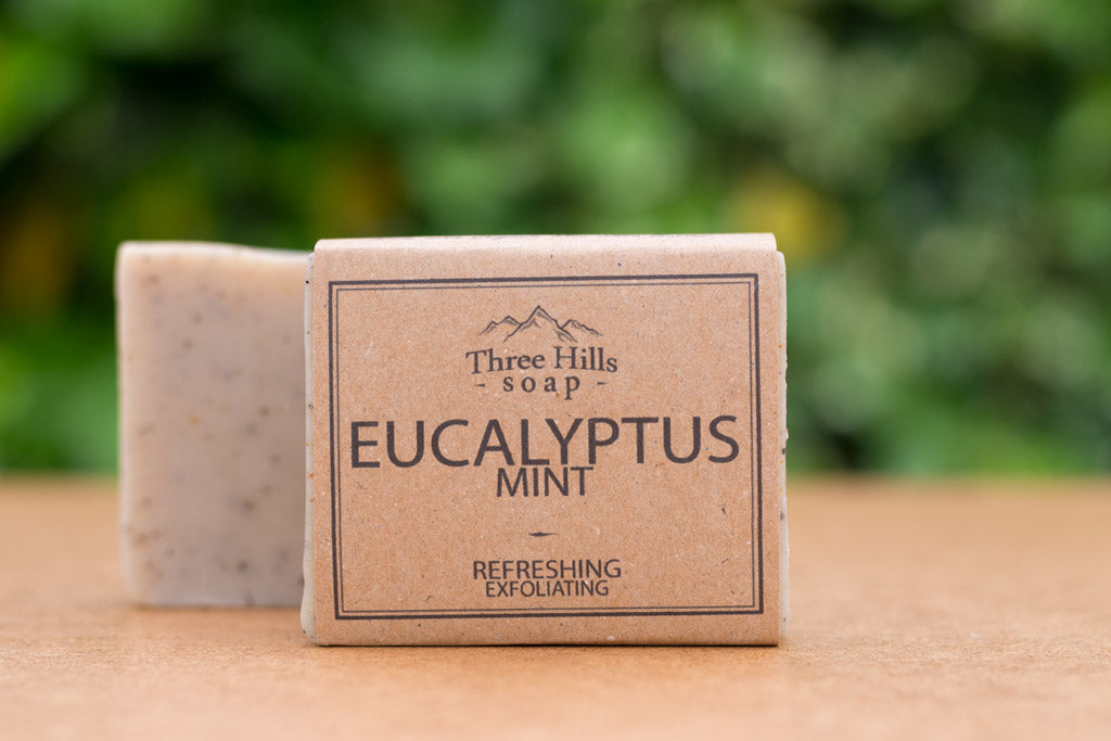 Three Hills Eucalyptus soap