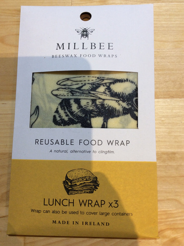Mill bee lunch wrap x3