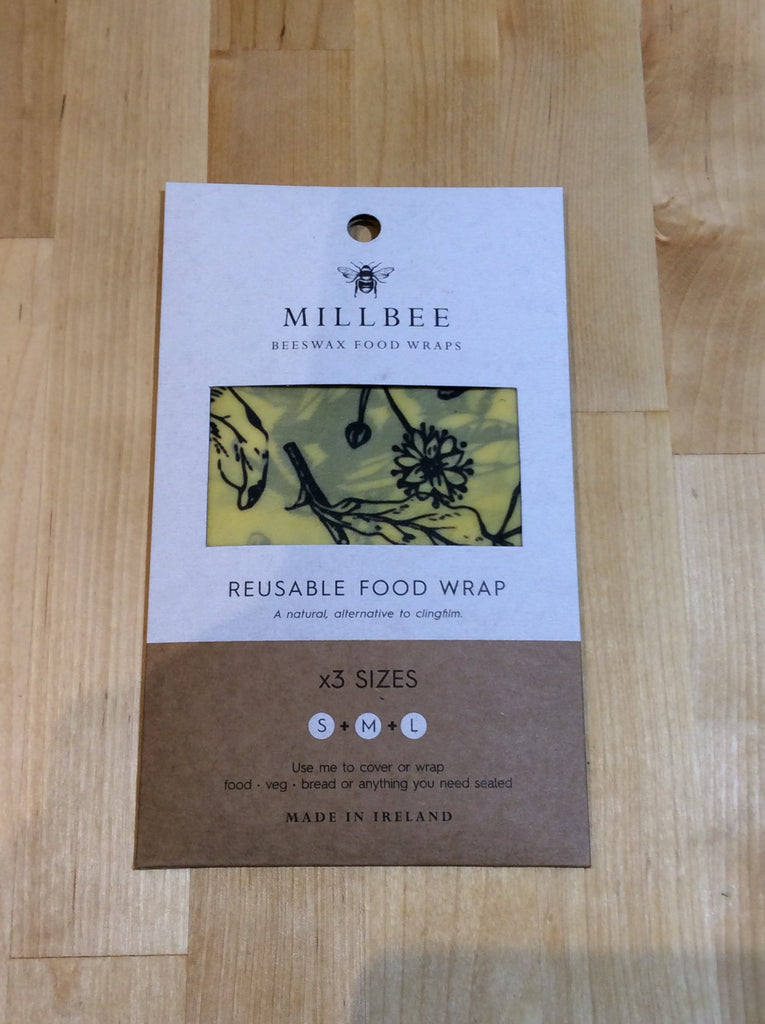 Millbee Reusable food wrap x 3 sizes