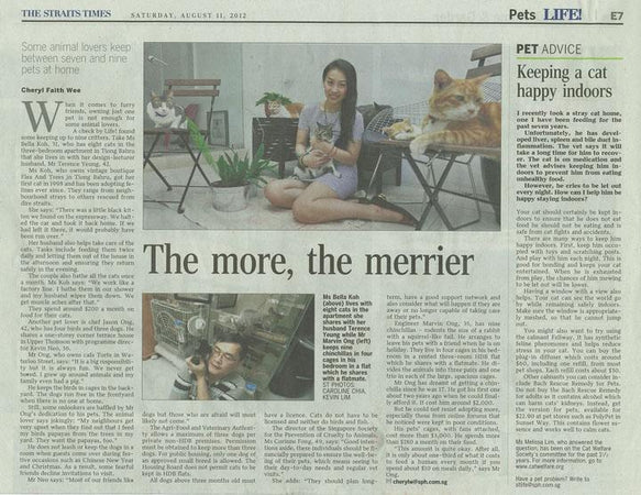 The Straits Times, The More, The Merrier