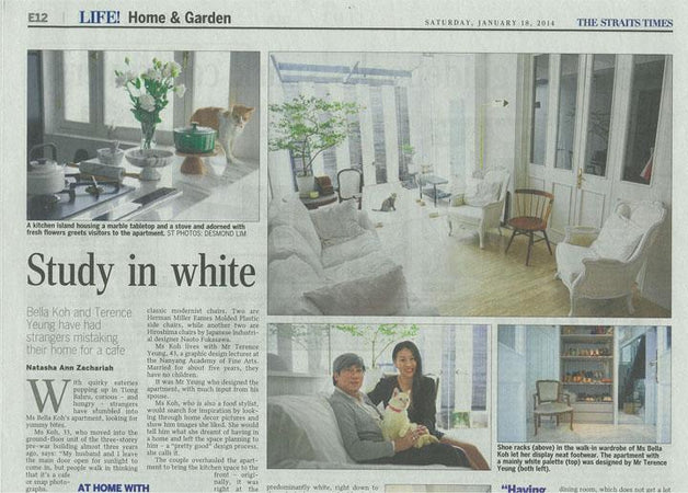 The Straits Times, Study of White