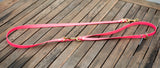 adjustable pvc leash Australia in brass and pink