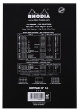 Load image into Gallery viewer, Rhodia Black Head Stapled Dot Pad N°16 - A5 - BDpens