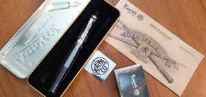 Kaweco Student Fountain Pen Transparent Clear F nib - BDpens