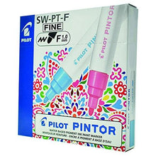 Load image into Gallery viewer, Pilot Pintor Classic set - Wallet of 6 - Water based pigment ink paint marker