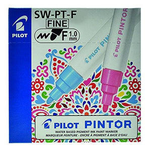 Pilot Pintor Classic set - Wallet of 6 - Water based pigment ink paint marker - BDpens